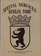 1953 Berlin Booklet Cover