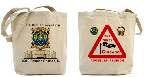 Field Station Augsburg Totebag